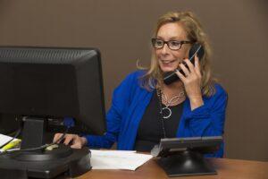 secretary, office, sales