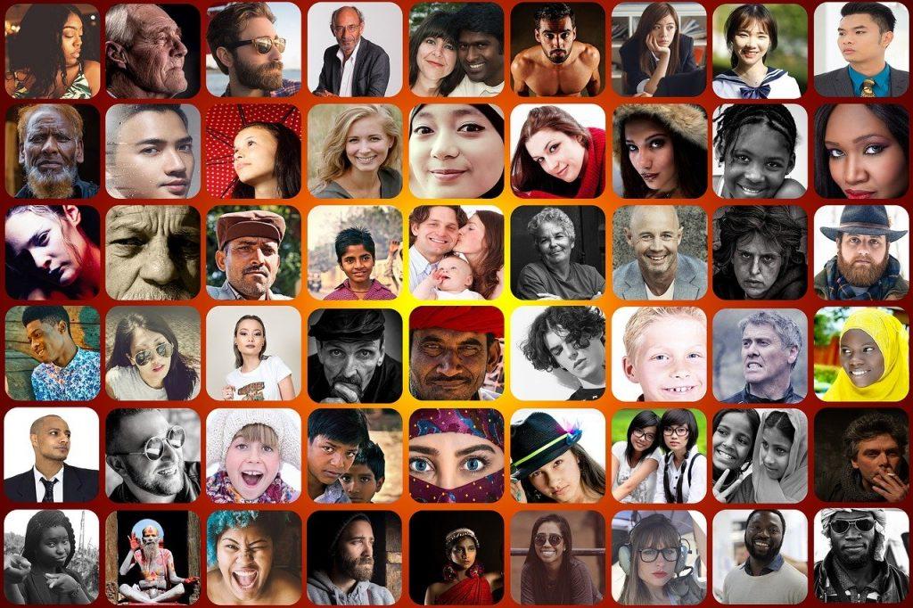 faces, social, play